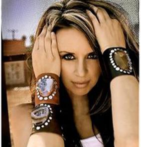 دستبند زنانه چرم,مدل دستبند زنانه چرم,جدیدترین دستبند زنانه چرم