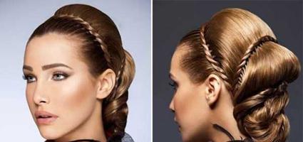 آرایش مو,آموزش آرایش مو,سایت آرایش,آموزش آرایشگری