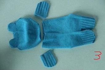 درست کردن عروسک با جوراب,آموزش ساخت عروسک