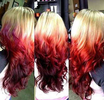 رنگ مو,مدل مو,جدیدترین مدل های مو