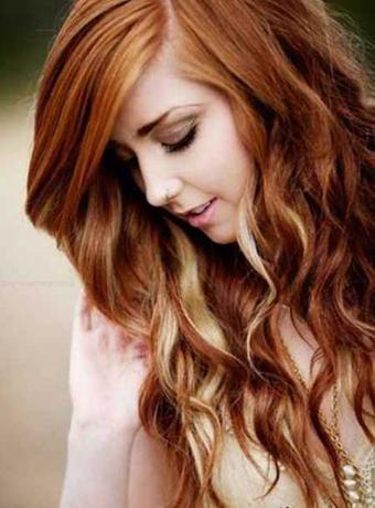 مدل مو,مدل های جدید مو,مدل رنگ مو,هایلایت مو