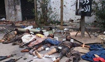 اخبار,اخبار داعش,کشته شدن داعش,هلاکت داعش,کشته شدن35 داعشی,هلاکت35 داعشی,مردن داعشی ها,ازبین رفتن داعش
