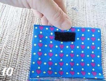 ساخت کیف چرم,دوخت کیف,دوخت کیف پول,ساخت کیف با کاغذ