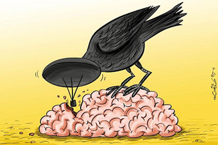 تاثیر مخرب ماهواره روی مغز,اثرات بد ماهواره روی مغز,ماهواره چه اثری روی مغز دارد