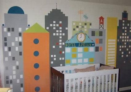مدل دکوراسیون اتاق کودک,تزئین اتاق کودک به سبک اروپا