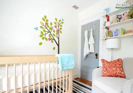 دکوراسیون اتاق نوزاد,دکوراسیون انواع اتاق ها,تزئین اتاق ها