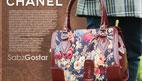 کیف دستی زنانه گلدار طرح جدید