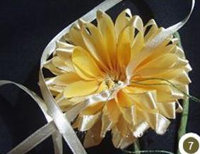 Making sunflowers