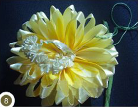 ساخت گل آفتابگردان
