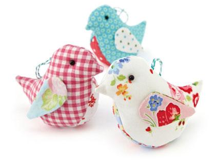 آموزش تصویری عروسک سازی,آموزش ساخت انواع عروسک با پارچه,گنجشک سازی,ساخت پرندگان با پارچه