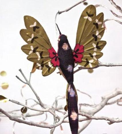 ساخت عروسک,ساخت عروسک پارچه ای,ساخت عروسک پرنده