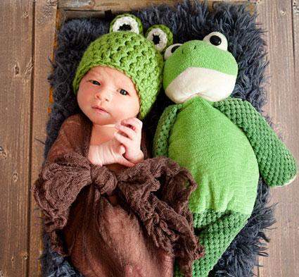 آموزش بافت کلاه زمستانی بچه گانه,بافت کلاه شبیه عروسک,بافت کلاه زمستانی شبیه عروسک