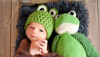 آموزش بافت کلاه بچه گانه شبیه قورباغه