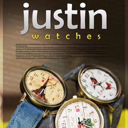 ساعت جاستین,خرید ساعت جاستین,مدل ساعت جاستین,خرید ساعت دخترانه جاستین