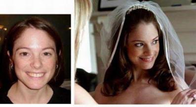 عکس عروس,تصاویر بدون آرایش عروس,تصاویر عروس قبل و بعد از آرایش