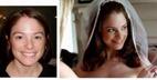 تصاویر جذاب و دیدنی عروس قبل و بعد از آرایش