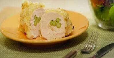 رولت مرغ اسپاراگوس,پخت رولت مرغ اسپاراگوس,Asparagus cooking chicken roulette