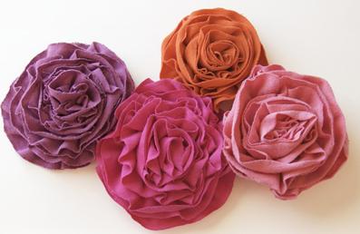 ساخت گل,گلسازی,آموزش گل سازی,ساخت گل پارچه ای
