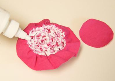ساخت کاردستی تزئینی با پارچه,آموزش گل سازی,ساخت گل
