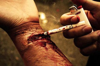 تاثیر دود سیگار بر ریه ها,سیگار,عوارض سیگار کشیدن,تاثیر سیگار بر بدن